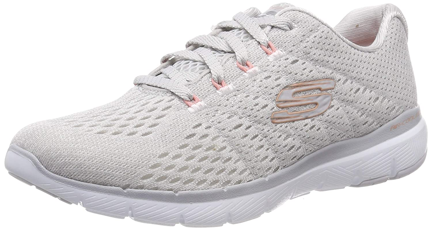 Ladies Skechers Flex Appeal 3.0 Hiking Jogging Gym Sports Trainers All Sizes