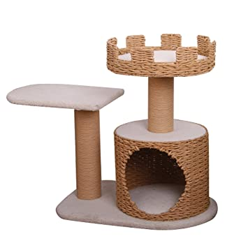 recycled paper furniture. Crown - PetPals 3 Level Recycled Paper Made Cat Furniture, 31x16x27\u0026quot; Furniture N