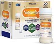 Enfamil Nutramigen Hypoallergenic Ready to Feed Colic Baby Formula Lactose Free Milk, 2 fluid ounce (6 count) - Omega 3 DHA,