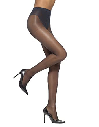 904d6e6b60c482 HUE Women's So Sexy French Lace Sheer Control Top Pantyhose (Pack of 3) at  Amazon Women's Clothing store: