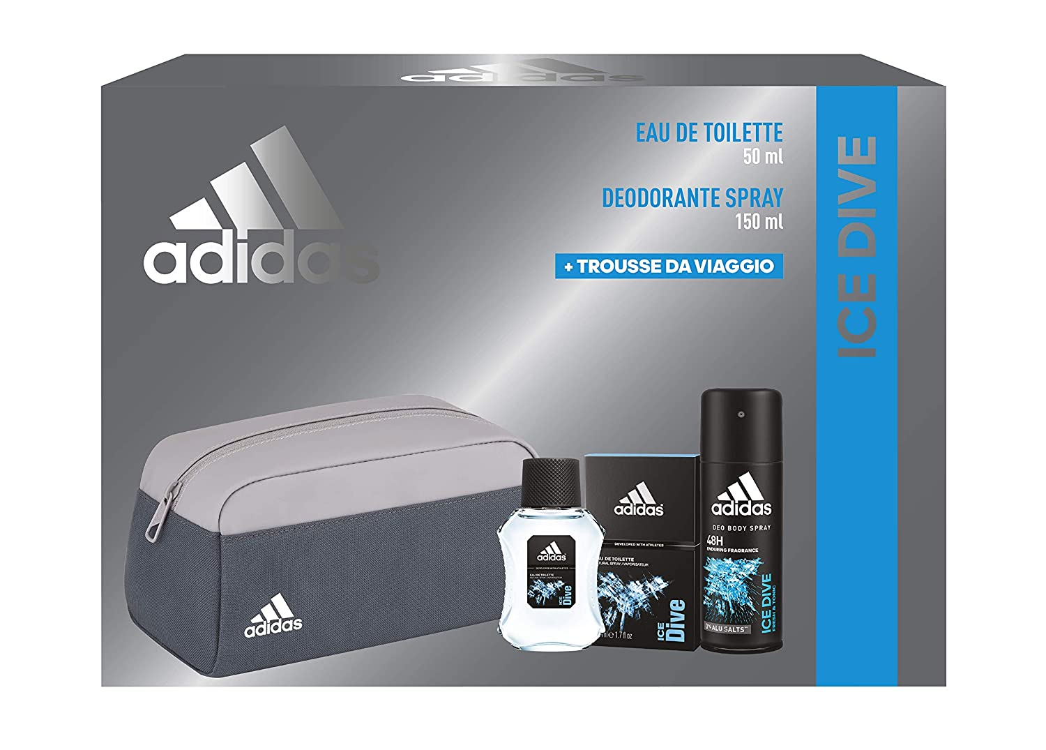 Deodoranti Adidas Team Five 150 ml: Amazon.it: Bellezza