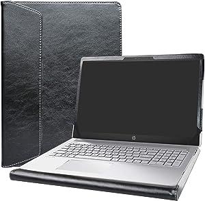 """Alapmk Protective Case for 15.6"""" HP Pavilion 15 15-csXXXX 15-cwXXXX & Acer Aspire 5 15 A515-52 A515-43 & Dell Latitude 3510 Laptop[Not fit Pavilion 15 15-cuXXX 15-ccXXX/Aspire 5 A515-54],Black"""