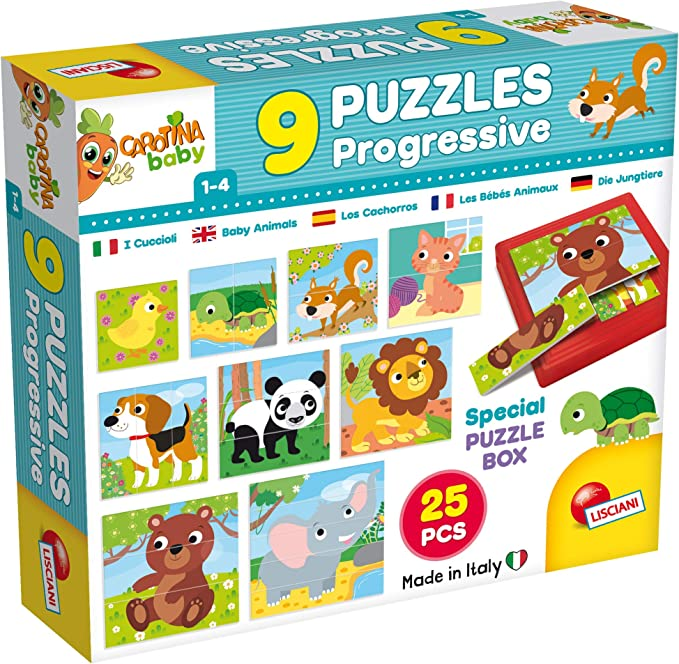 Puzzle Carotina Baby 58518  Lisciani