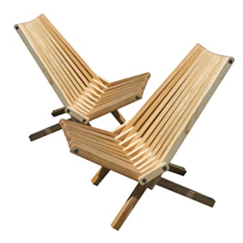 Incroyable Amazon.com : GloDea X36P1TOS2 Lounge Chair, Teak Oil, Set Of 2 : Folding  Patio Chairs : Garden U0026 Outdoor