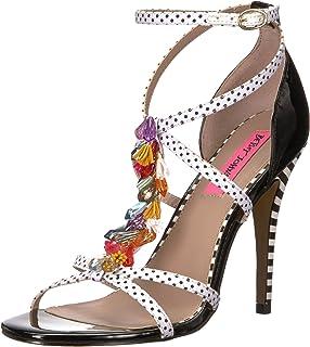 580bf6366c41 Betsey Johnson Women s Tyna Heeled Sandal  Amazon.co.uk  Shoes   Bags