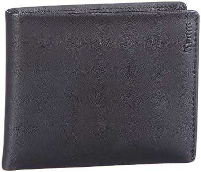 Maitre Unisex - Adult Largo Portemonnaie (QF) Wallet Black Schwarz (schwarz  1)