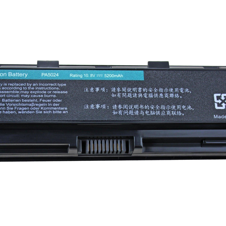 Dtk Batera De Repuesto Para Porttil For Toshiba Part Number Original Baterai C800 C800d C840 C840d C845 C870 L800 L805 L830 L835 L840 L845 L850 M840 M805 M800 P800 S800 P870 Pa5024 Pa5023u 1brs Pa5024u Pa5025u Pa5026u Pabas259 Pabas260 Pabas261