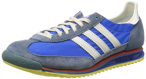 sale retailer d4bab 50cf5 adidas SL 72 Vin - Zapatillas para Hombre, Color AzulBlancoRojoAmarillo,  Talla 6 Amazon.es Zapatos y complementos