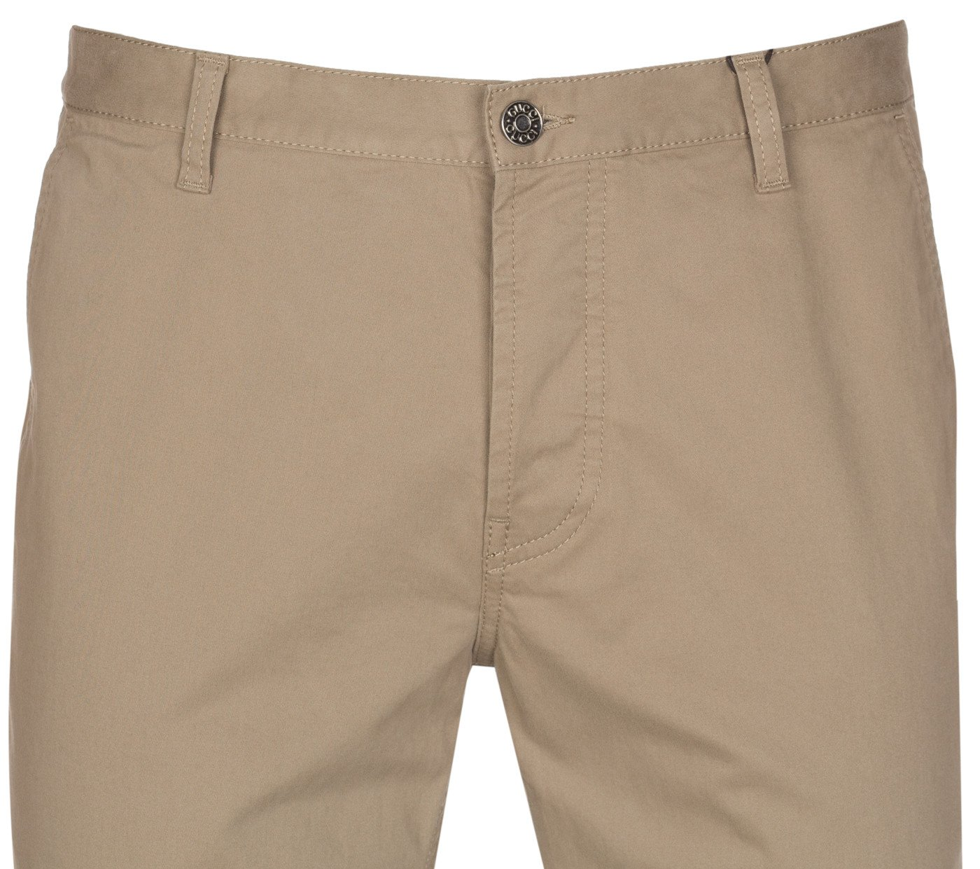 Gucci Men's Softened Stretch Cotton Short Chino Casual Pants, Beige, 28 by Gucci (Image #6)