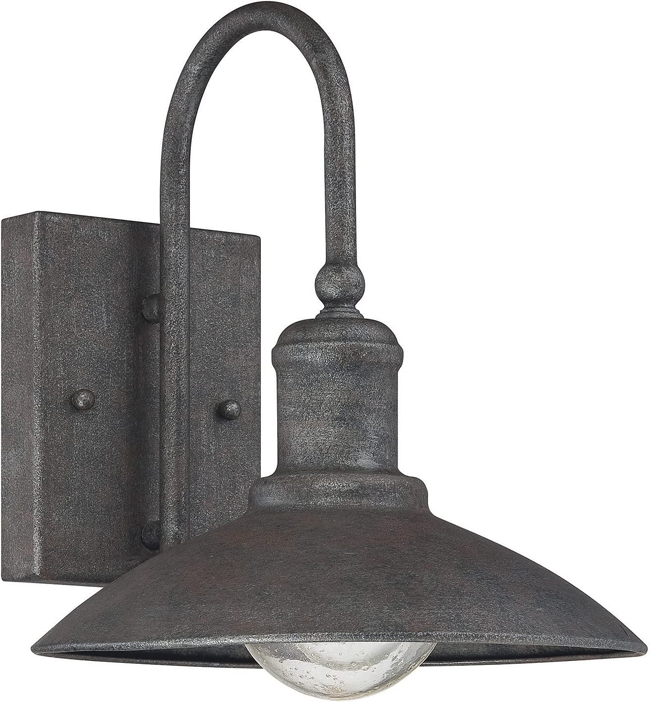 Savoy House 5-5030-1-32, Mica Wall Lantern, Artisan Rust