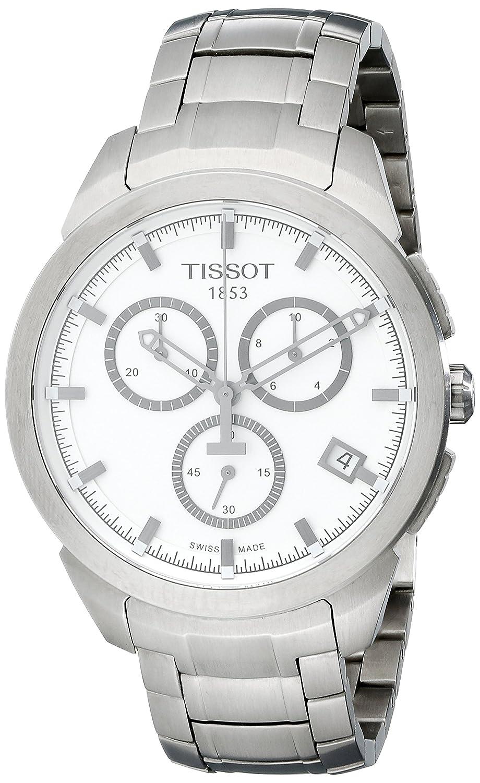 [ティソ]TISSOT 腕時計 Titanium Quartz Chronograph(チタニウム クォーツ クロノグラフ) T0694174403100 メンズ 【正規輸入品】 B008BDRA0Q