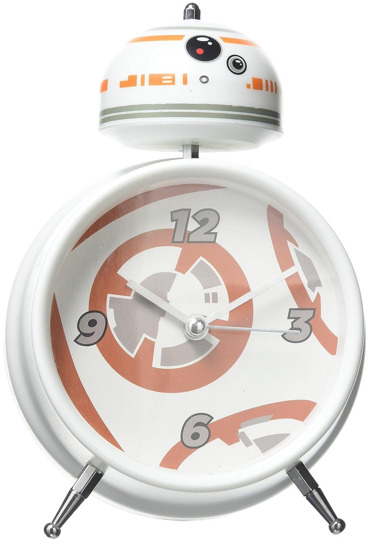 Star Wars BB 8 Alarm Clock with Sound, Multi, 16 x 10 x 6 cm Paladone products Ltd PP3784SW