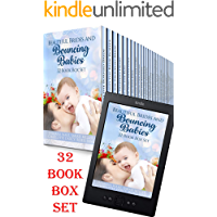 Beautiful Brides and Bouncing Babies 32 Book Box Set: Bumper Collection of Sweet Mail Order Bride Romances, Sweet Amish…