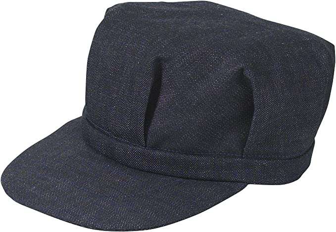 1930s Men's Fashion Guide- What Did Men Wear? Broner Sized Railroad Engineers Hat $19.99 AT vintagedancer.com