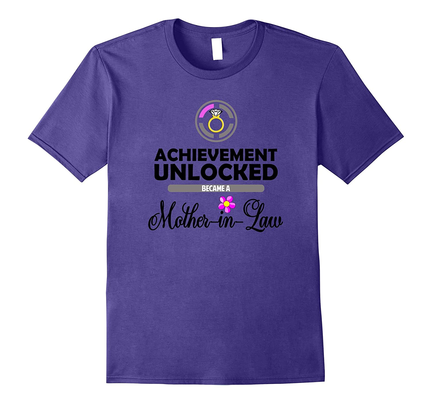 Achievement Unlocked Mother-in-Law T-Shirt