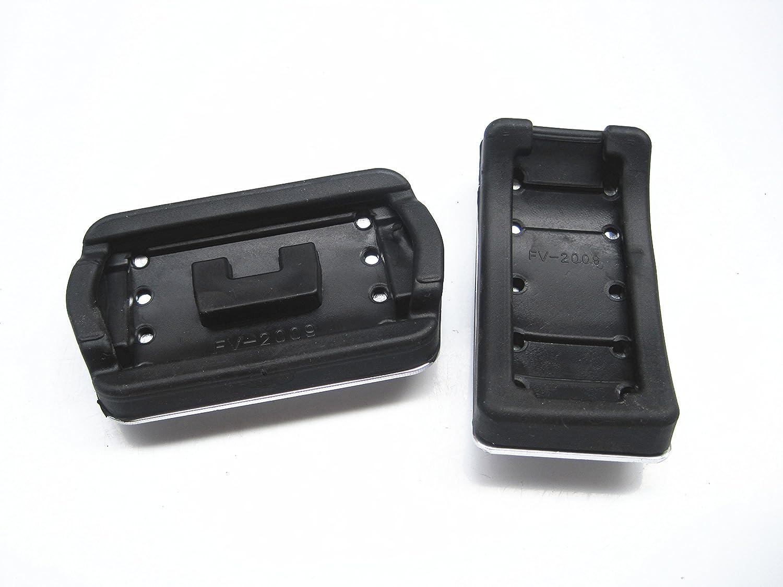 AT Pedale F/ür F ord Kuga 2013-2018 Fu/ßst/ütze Auto Kein Bohren Aluminium Bremse Gaspedal Pedalkappen Rutschfeste Pedal Automatikg 2 Tabletten