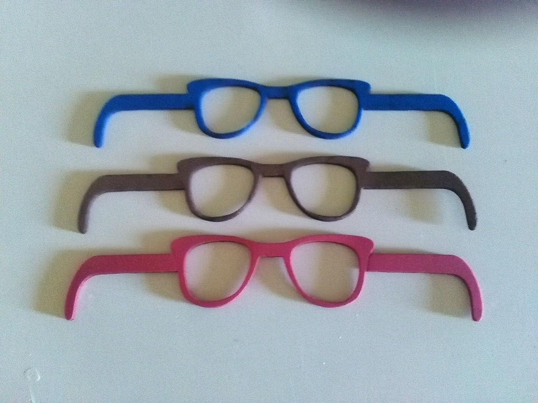 6 gafas de goma eva ideal para fofuchas o cualquier muñeca (Para bolas de 6-7-8 cm): Amazon.es: Hogar