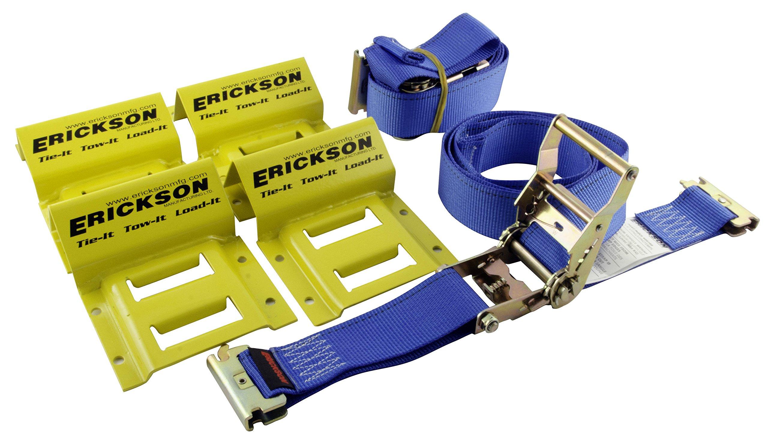 Erickson 09160 Wheel Chock Tie-Down Kit by Erickson