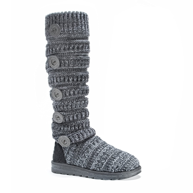 MUK LUKS Women's Miranda Winter Boot B01LZ8II8B 7 B(M) US|Steel Grey