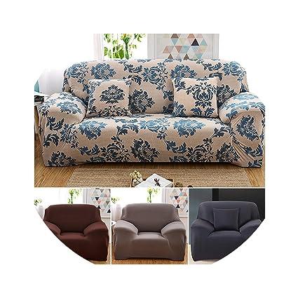 Amazon.com: European Stretch Sofa Cover Sofa Cover All ...