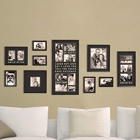 Excellent Jerry Maggie Luxury Typography Sets Photo Frame Wall Decor Bar Wall Decor Combination Gold Black Pvc Picture Large Frame Selfie Gallery Machost Co Dining Chair Design Ideas Machostcouk