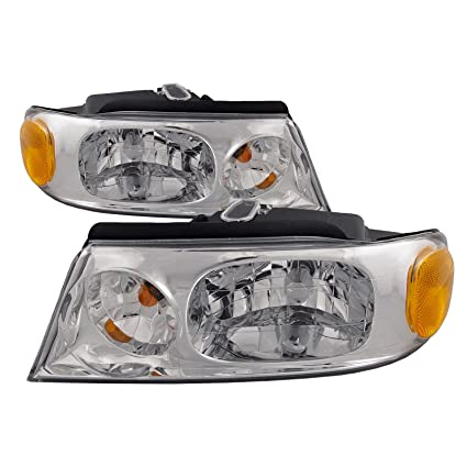 88768baae4e2 Amazon.com  Headlights Depot Replacement for Lincoln Navigator Blackwood  Halogen-Type Headlights Headlamps New Pair  Automotive