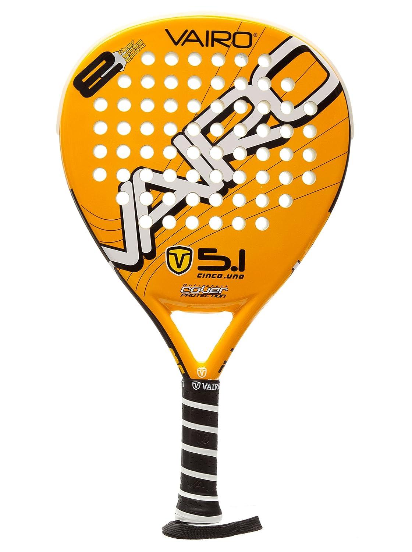 VAIRO Pala Padel Across 5.1 Amarilla única: Amazon.es: Deportes y ...