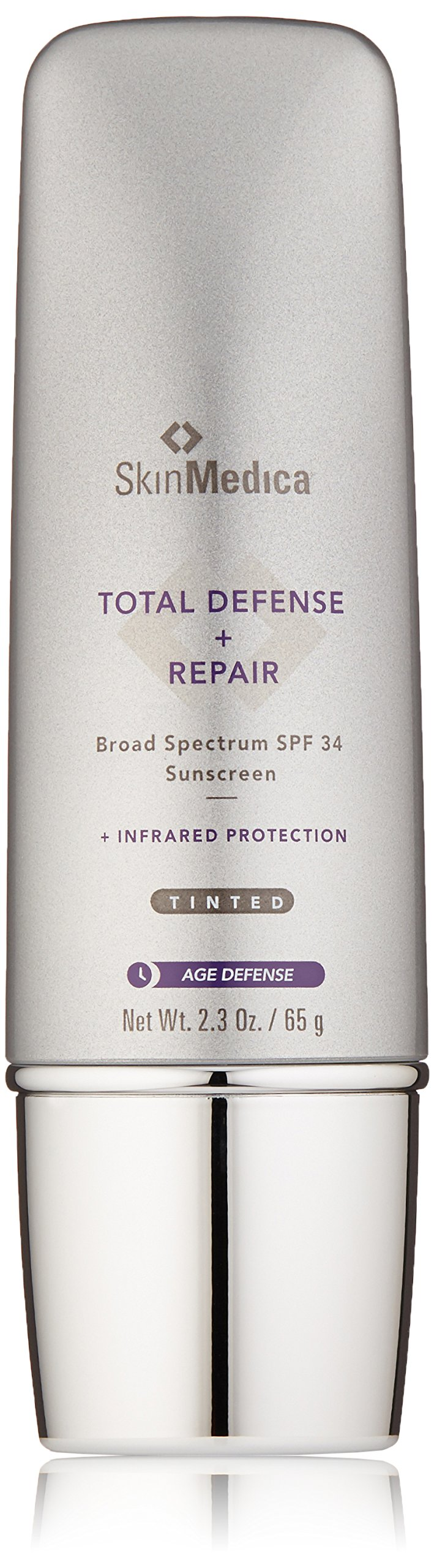 SkinMedica Total Defense Plus Repair SPF 34 Sunscreen Tinted, 2.3 oz.