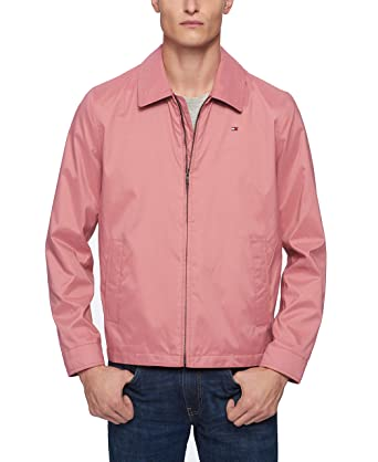 87e1a145220 Tommy Hilfiger Men s Lightweight Microtwill Golf Jacket at Amazon ...