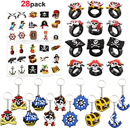 Amazon.com: Konsait - Kit de accesorios para fiestas piratas ...