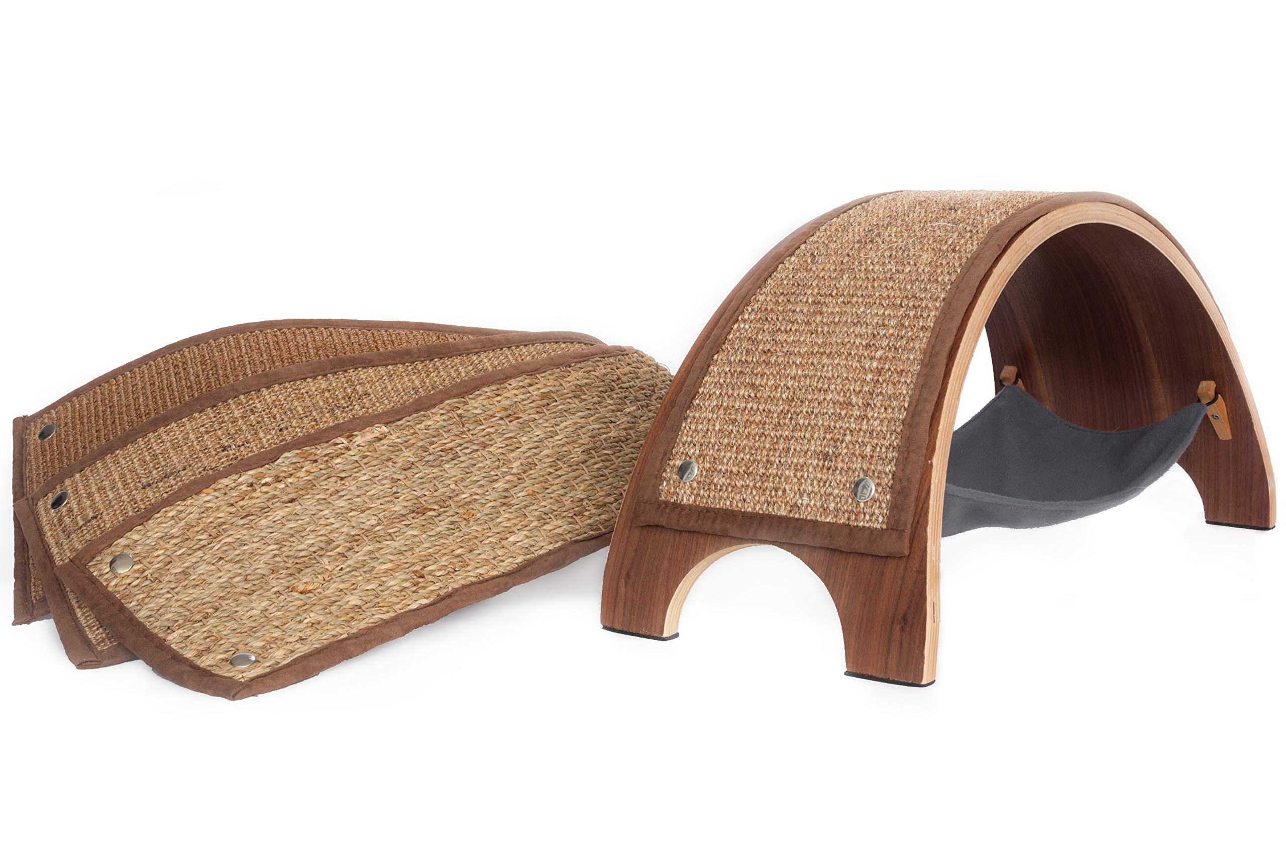 Feline Innovations The QuickSnap Replaceable Cat Scratcher + Replacements Set (Bundle) by Feline Innovations