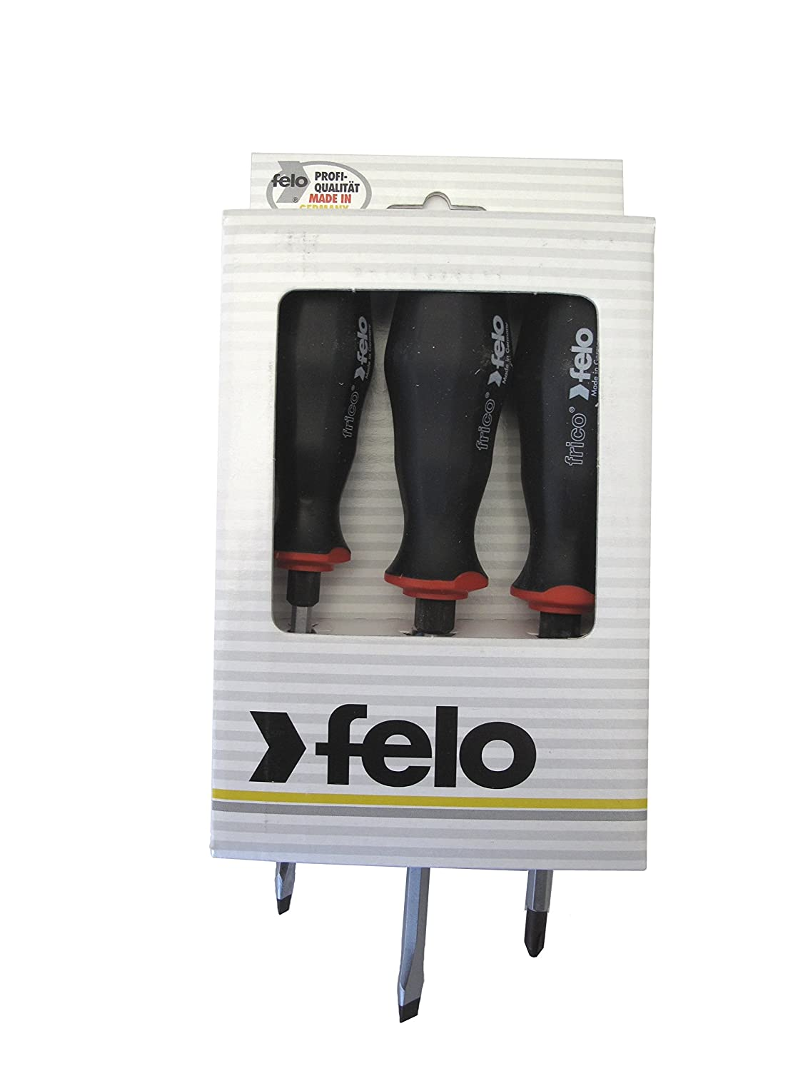 Felo 0715753521 Slotted & Phillips Screwdriver Set (6 Piece) Anchor Fasteners