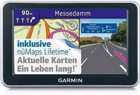 Garmin nüvi 2340LMT - Navegador GPS con mapas de Europa central (pantalla de 10,9 cm (4,3 pulgadas), canal de tráfico TMC pro, vista de cruces con fotos reales en 3D, soporte activo,