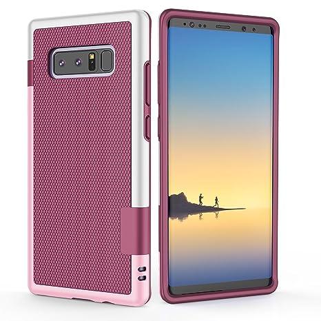 Xy-shell Funda Samsung Galaxy Note 8, Carcasa [Serie híbrida] Case Galaxy Note 8 Parachoques[TPU+PC Premium][Anti-patín] Funda Samsung Note 8 Patrón ...