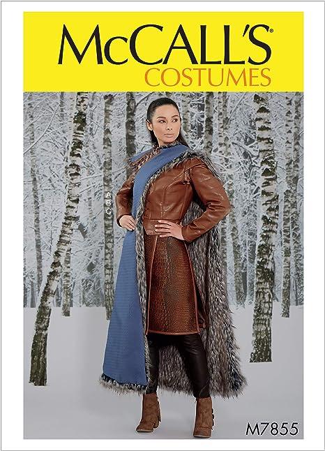 McCalls Patterns M7855 - Patrones de costura para chaqueta, falda ...