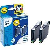 Pelikan 2 cartridges - ink cartridges (Black, T061140, Epson Stylus D68 Photo Edition/ D88/ D88 Photo Edition/ DX3800/ DX3850/ DX4200/ DX4800/ DX4850, Inkjet, 9 ml)