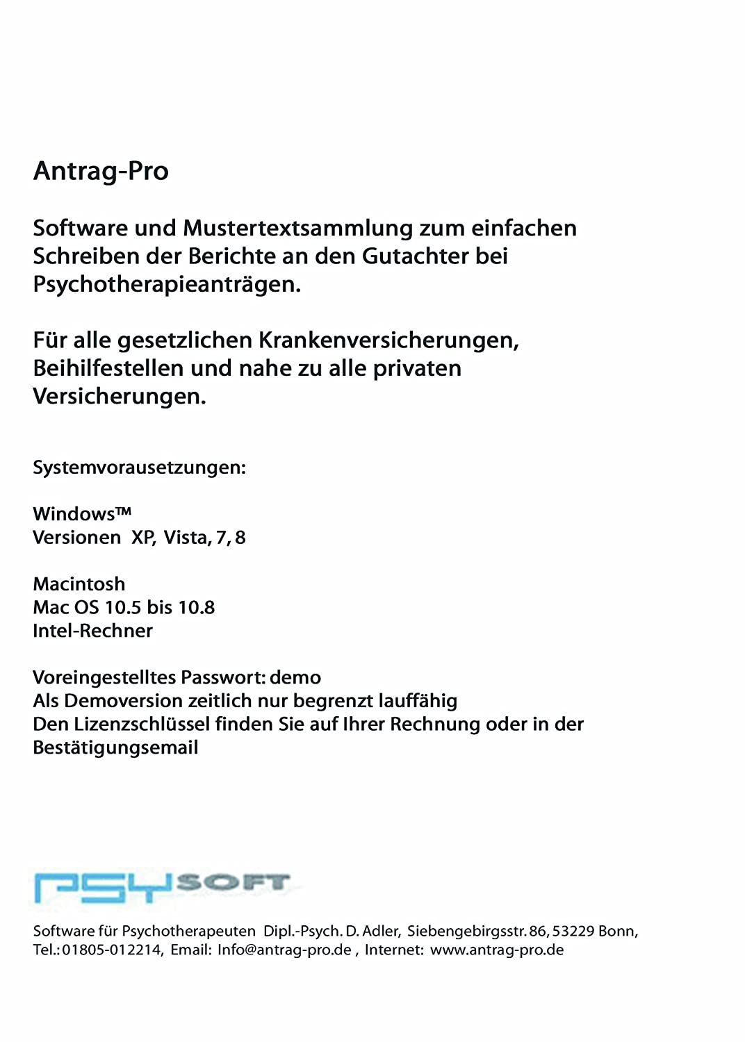 Antrag Pro Enterprise: Amazon.de: Software