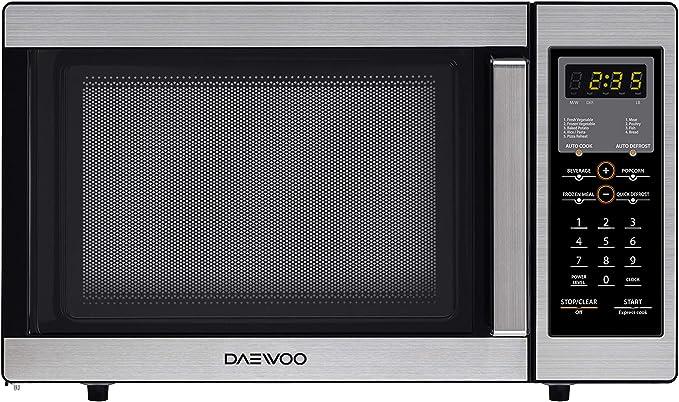 Amazon.com: Daewoo 0.9 Cu ft Horno de microondas, acero ...