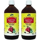 Dr.Patkar's Apple Cider Vinegar With Mother 1 Month Pack (500 ML) (Pack of 2)
