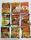 Mama Rare 9 Flavors Instant Noodles Best Sellers