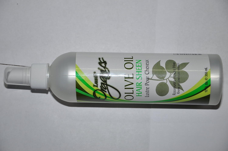 LUSTI ORGANICS OLIVE OIL HAIR SHEEN 12 FL OZ by Organics