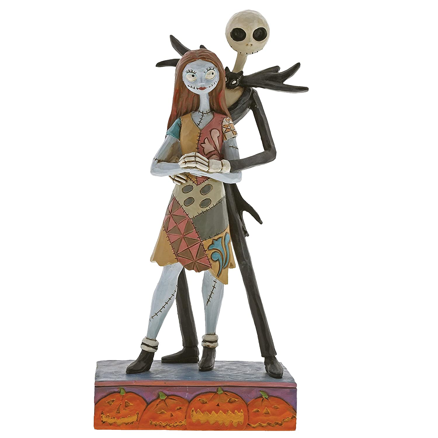 Disney Traditions Fated Romance-Jack & Sally Figurine Decorazione, Multicolour, Taglia Unica Nightmare Before Christmas 4057951 NON-CLASSIFIABLE