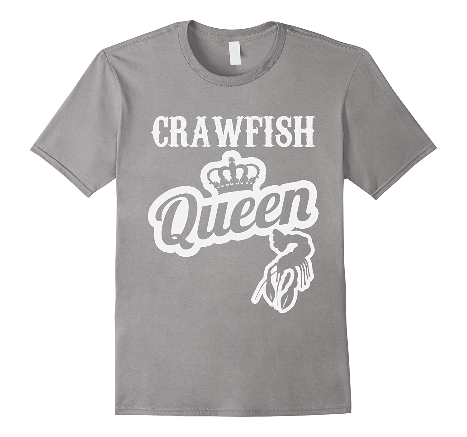 Crawfish Queen Tee Cajun Boil Mudbug Crayfish Crawdad Gift-CD