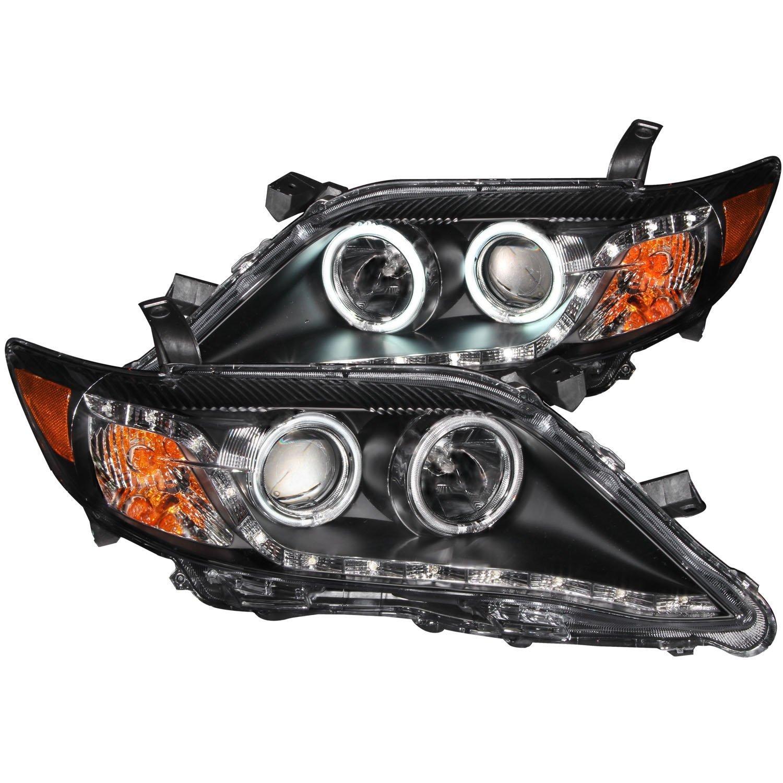 Amazon com 2010 toyota camry halo r8 led projector headlights 8 led fog bumper light automotive
