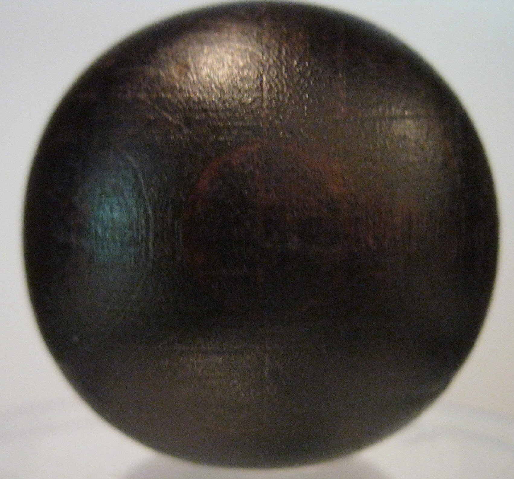 Walnut Lamp Finial - Multiple Sizes and Finishes (Walnut Stain, 1.75 Inch)