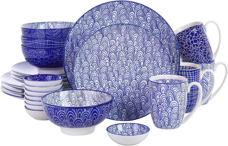Porcelana Vajilla, 24 Piezas