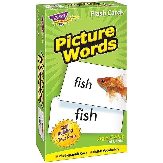 Amazon.com: Tarjetas con palabras e imágenes: Toys ...