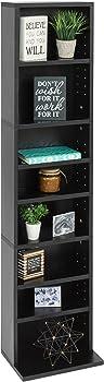 BCP 8-Tier Media Storage Tower Bookcase