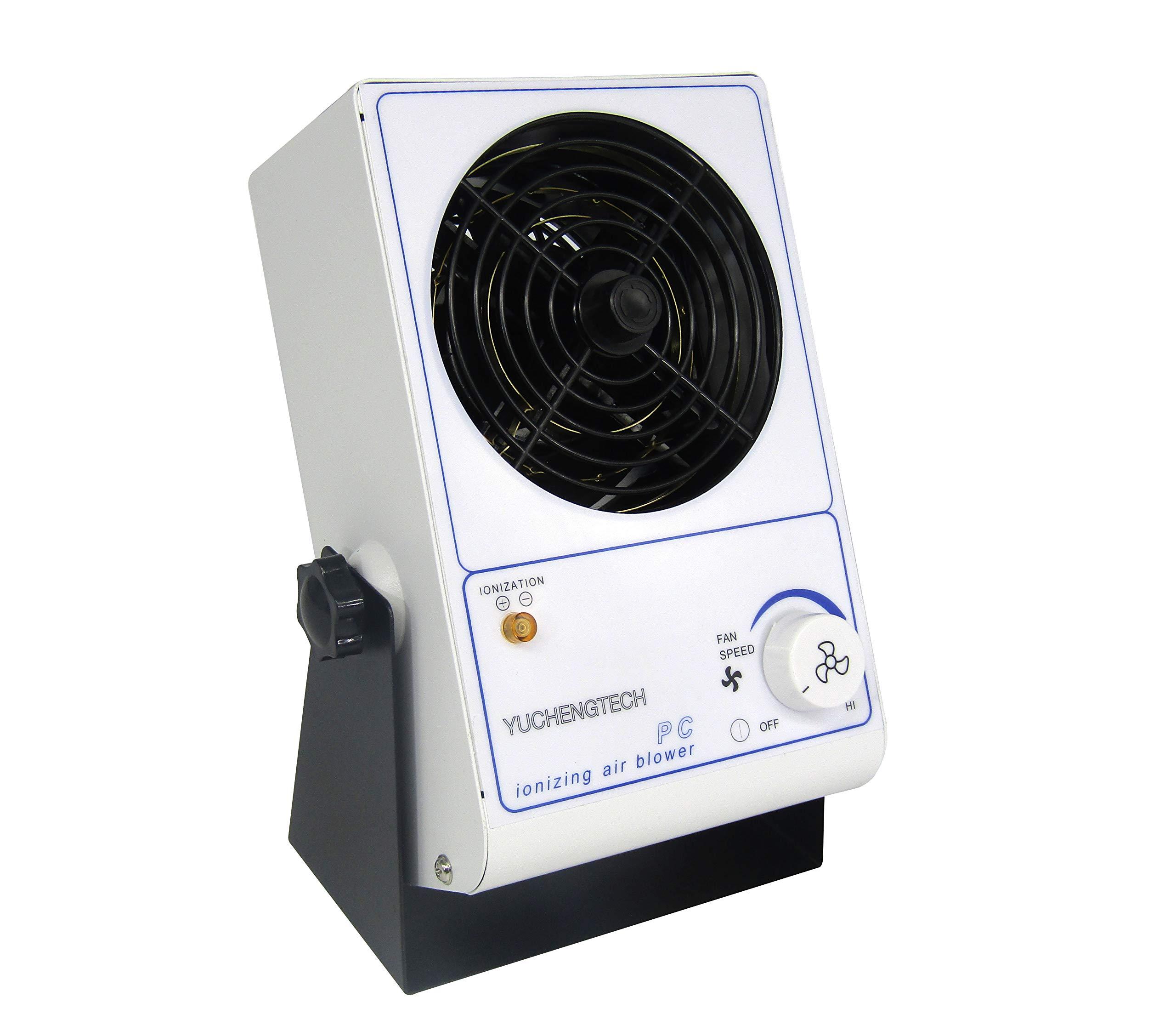 YUCHENGTECH Ionizing Air Blower ESD Fan Electro Discharge Static Eliminator DC Anti-Static Ionizer 110V - 120V