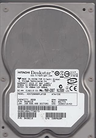 HITACH HDS728080PLAT20 DRIVERS FOR MAC DOWNLOAD